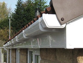 Guttering and roofline